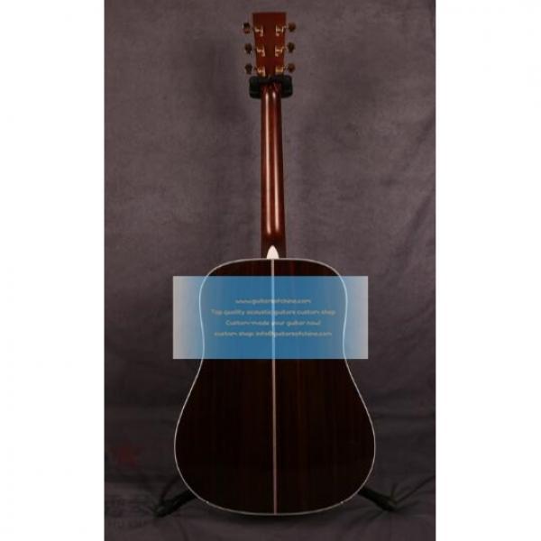 Sale Custom Solid Martin D-41 Guitar Natural #2 image