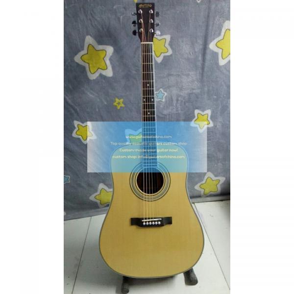 Custom solid dreadnought Martin D-35 guitar #1 image