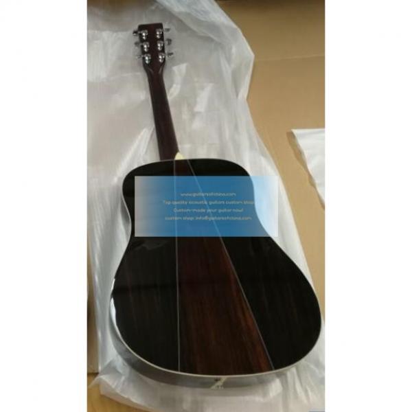Chinese custom martin acoustic guitars Martin d-35 guitar #2 image