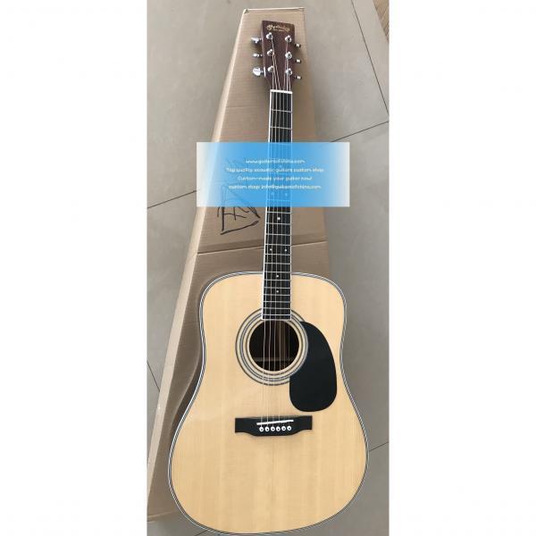 Custom Martin D-35 Acoustic Natural Guitar #1 image
