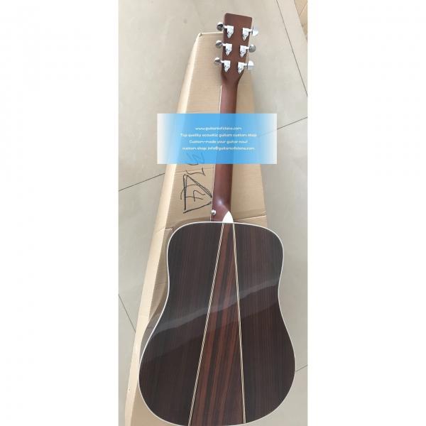 Custom Martin D-35 Acoustic Natural Guitar #2 image