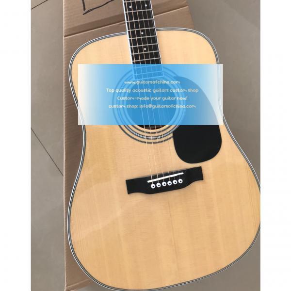 Custom Martin D-35 Acoustic Natural Guitar #3 image