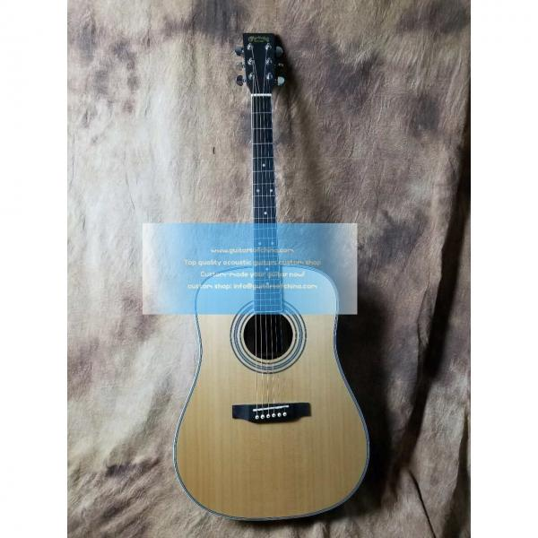 Custom Martin D-35 dreadnought acoustic-electric guitar #1 image