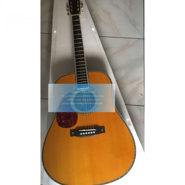 Sale Custom Left-handed Martin D-42 Acoustic-electric Guitar #1 image