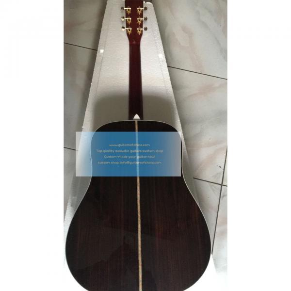 Sale Custom Left-handed Martin D-42 Acoustic-electric Guitar #2 image