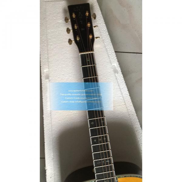 Sale Custom Left-handed Martin D-42 Acoustic-electric Guitar #3 image