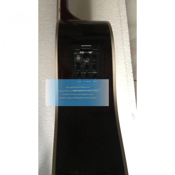 Sale Custom Left-handed Martin D-42 Acoustic-electric Guitar #4 image