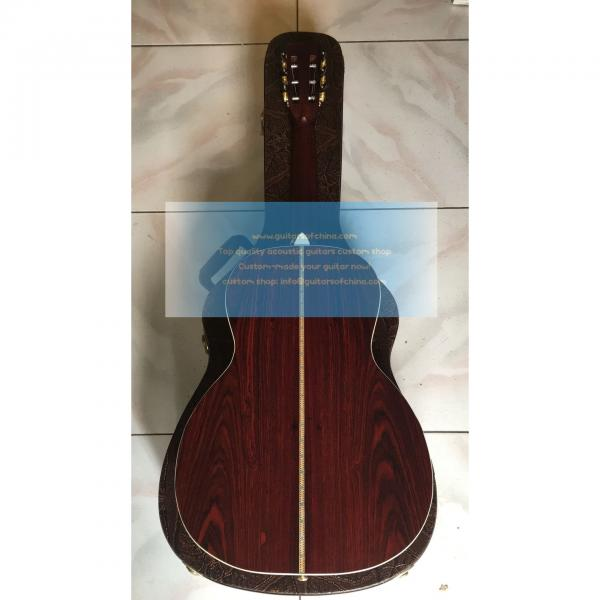 Custom Solid Martin 00-42sc John Mayer Cocobolo Guitar #4 image