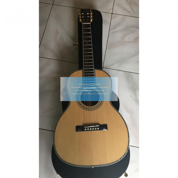 Custom Martin 00-42sc John Mayer Signature Solid Acoustic Guitar #1 image