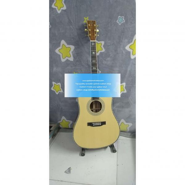 Solid KOA Custom Martin D'45 Acoustic-Electric Guitar #1 image