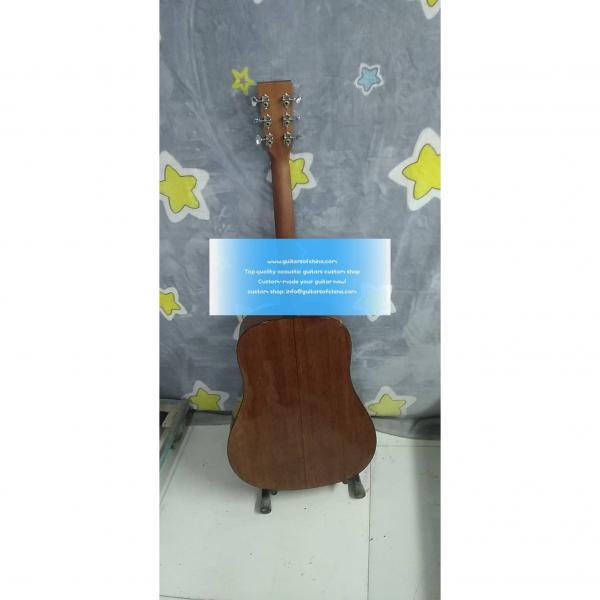 Custom Solid Martin D-18 D 18 Acoustic Sunburst Guitar #2 image