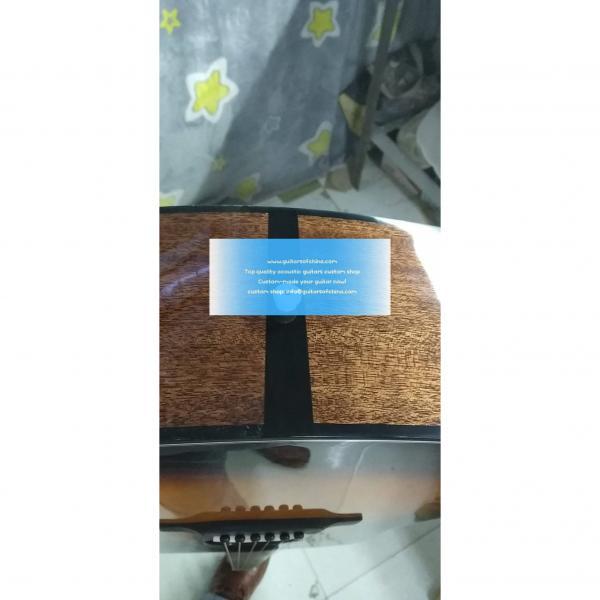 Solid Martin D18 D-18 D 18v Acoustic Sunburst(2018 New Top Quality) #3 image