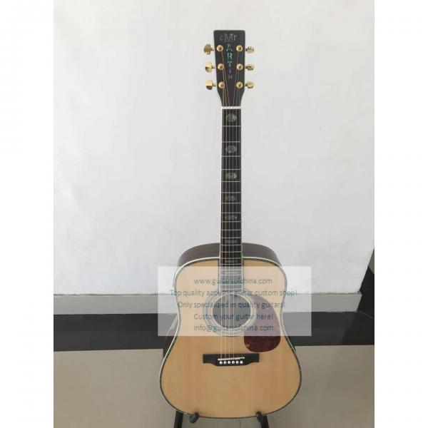 Custom Martin D-45 SS Standard Series Guitar Natural #1 image