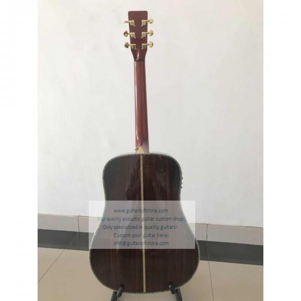 Custom Martin D-45 SS Standard Series Guitar Natural #3 image
