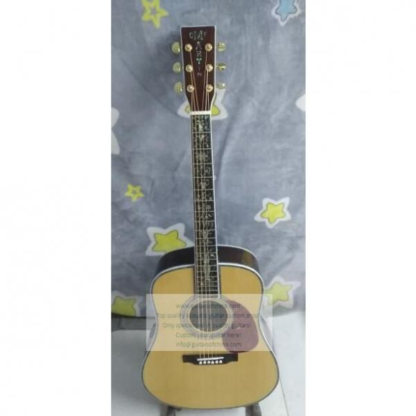 Custom Martin D45s Acoustic Guitar For Sale Fancy Abalone Inlay #1 image