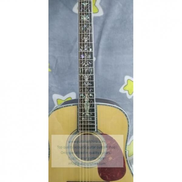 Custom Martin D45s Acoustic Guitar For Sale Fancy Abalone Inlay #2 image