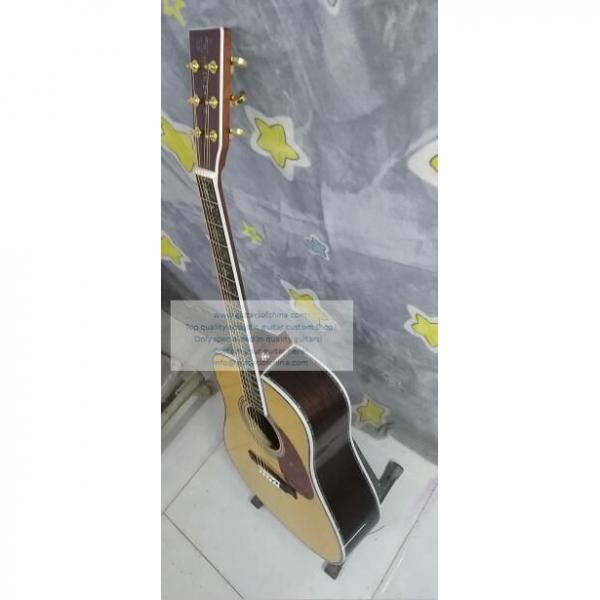Custom Martin D45s Acoustic Guitar For Sale Fancy Abalone Inlay #3 image