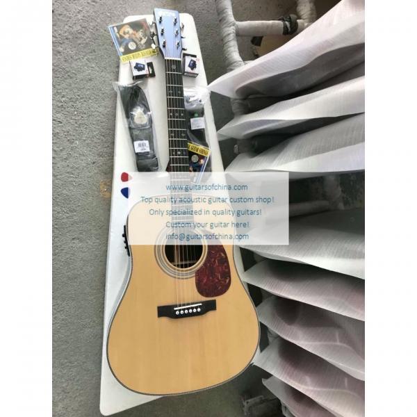 Custom Martin Guitar HD-28 Acoustic Guitar Natural For Sale #1 image