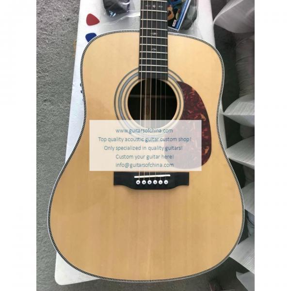 Custom Martin Guitar HD-28 Acoustic Guitar Natural For Sale #2 image
