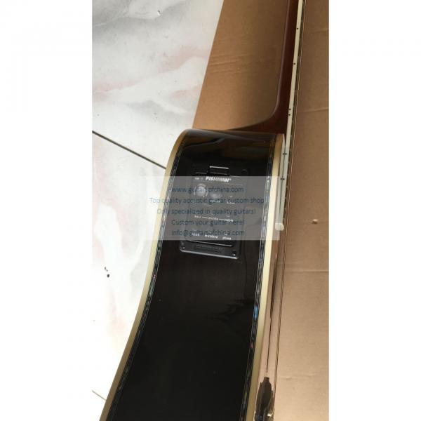 Custom Martin D-45 cutaway acoustic-electric guitar natural #2 image