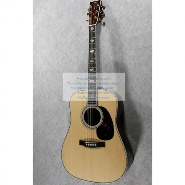 Sale Custom Quality Solid Wood Martin D45SS Acoustic Guitar #1 image