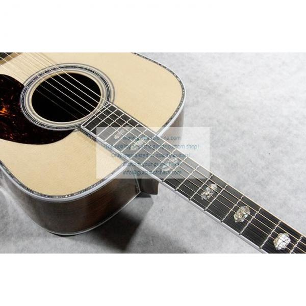 Sale Custom Quality Solid Wood Martin D45SS Acoustic Guitar #2 image