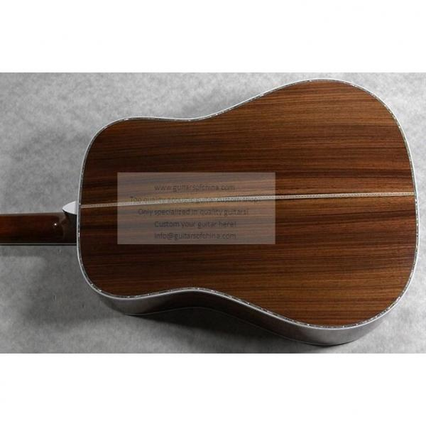 Sale Custom Quality Solid Wood Martin D45SS Acoustic Guitar #3 image