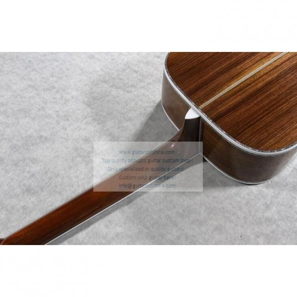 Sale Custom Quality Solid Wood Martin D45SS Acoustic Guitar #4 image