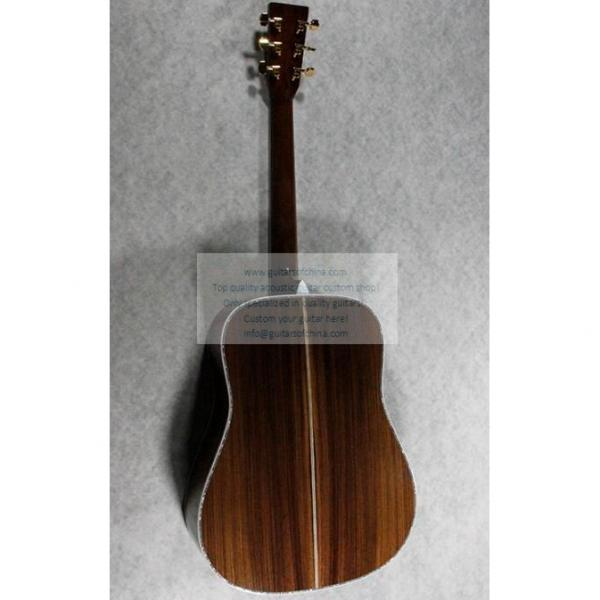 Sale Custom Quality Solid Wood Martin D45SS Acoustic Guitar #5 image