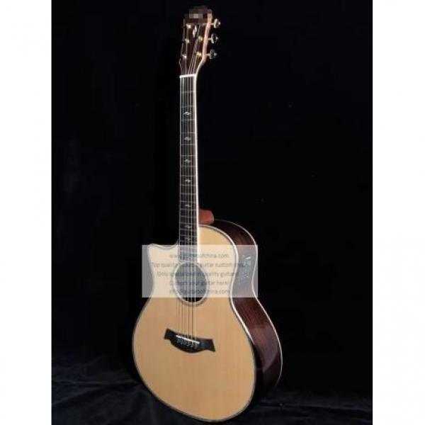 Custom Lefty Chtaylor 814ce Grand Auditorium Acoustic Electric Guitar #2 image