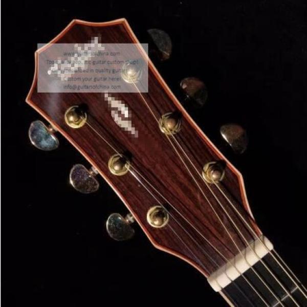 Custom Lefty Chtaylor 814ce Grand Auditorium Acoustic Electric Guitar #3 image