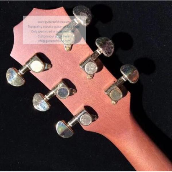 Custom Lefty Chtaylor 814ce Grand Auditorium Acoustic Electric Guitar #4 image