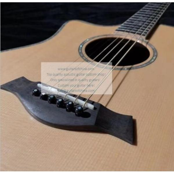 Custom Lefty Chtaylor 814ce Grand Auditorium Acoustic Electric Guitar #5 image