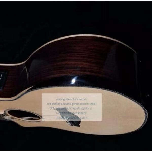 Custom Lefty Chtaylor 814ce Grand Auditorium Acoustic Electric Guitar #6 image