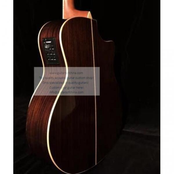 Custom Lefty Chtaylor 814ce Grand Auditorium Acoustic Electric Guitar #7 image