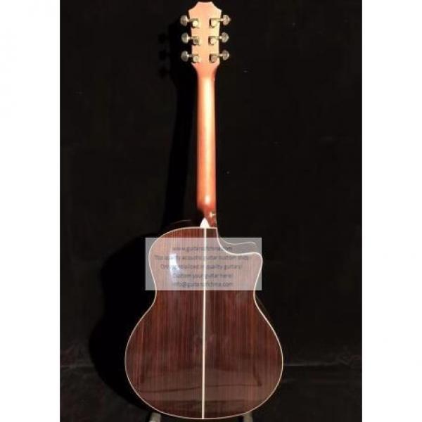 Custom Lefty Chtaylor 814ce Grand Auditorium Acoustic Electric Guitar #8 image